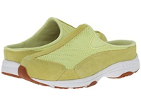 Easy Spirit Traveltime Light Yellow Light Yellow Suede Women's Clog Shoes