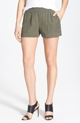 Joie Women's Beso Woven Shorts Fatigue