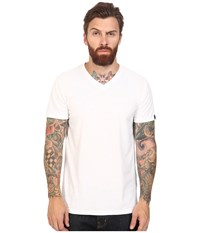 Oakley V Neck Tee White Men's T Shirt
