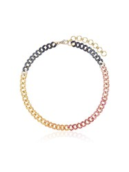 Shay 18Kt Gold Diamond Sapphire Anklet
