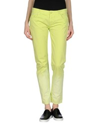 Cristinaeffe Collection Trousers Casual Trousers Women Acid Green