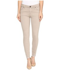 Kut From The Kloth Connie Ankle Skinny With Released Hem In Khaki Khaki Women's Jeans