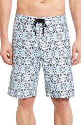 Hurley Men's Big And Tall Groves Board Shorts White