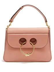 J.W.Anderson Pierce Medium Leather Shoulder Bag Light Pink