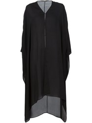 Adam By Adam Lippes Adam Lippes Long Kaftan Black