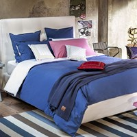 Tommy Hilfiger Chambray Duvet Cover Denim Blue