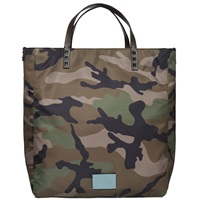 Valentino Camouflage Tote Bag Green