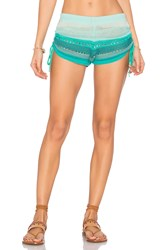 Goddis Tropical Dream Short Green