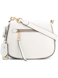 Marc Jacobs Small Recruit Nomad Satchel Bag Nude Neutrals