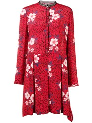 Zadig And Voltaire Floral Flared Dress