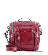 Mcq By Alexander Mcqueen Loveless Mini Convertible Backpack Purple