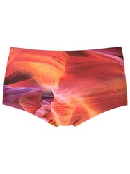 Lygia And Nanny Printed Swim Trunks Purple