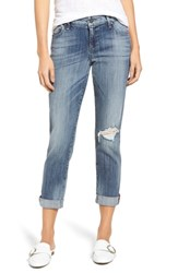 Kut From The Kloth Catherine Ripped Boyfriend Jeans Fondly