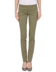 Siviglia Denim Casual Pants Military Green