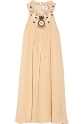 Alice By Temperley Fonteyn Embellished Georgette Dress