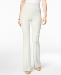 Inc International Concepts High Waist Curvy Fit Bootcut Pants Only At Macy's Washed White