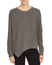 Wilt Big Paneled Sweatshirt Distressed Black