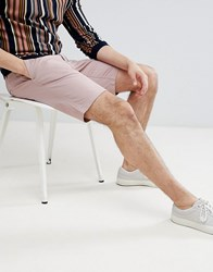 Only And Sons Chino Shorts In Pink