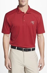 Cutter And Buck Men's Big Tall 'Tampa Bay Buccaneers Genre' Drytec Moisture Wicking Polo