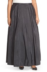 Plus Size Women's Alex Evenings Taffeta Ballgown Skirt