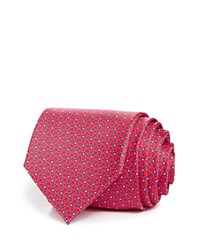 Bloomingdale's The Men's Store At Tri Flower Dot Classic Tie Red Blue