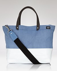Jack Spade Coal Tote Bag Blue White