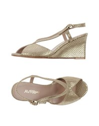 Avril Gau Footwear Sandals Women Gold