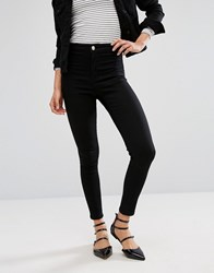 Oasis High Waist Skinny Jean Black