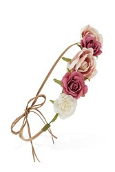 Forever 21 Strappy Flower Crown Headwrap