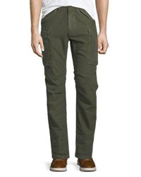 Frame Army Straight Leg Cargo Pants Army Green