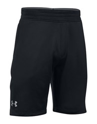 Under Armour Tech French Terry Athletic Shorts Black