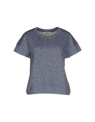 Sessun Topwear Sweatshirts Women Slate Blue