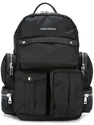 Dsquared2 'Utilitary' Backpack Black