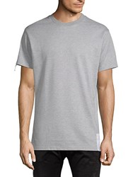 American Stitch Short Sleeve Crew Tee Grey