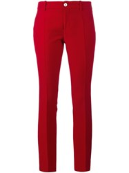 Gucci Bootcut Trousers Red