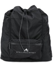 Adidas By Stella Mccartney Logo Print Backpack Black
