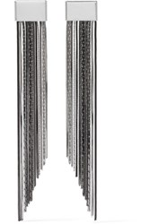 Rosantica Cattiva Palladium Tone Earrings Gunmetal