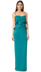 Black Halo Delray Gown Jade