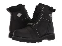 Harley Davidson Oakleigh Black Lace Up Boots