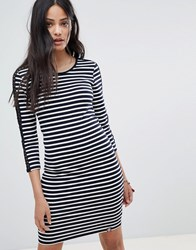 Superdry Stripe Bodycon Dress Multi