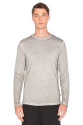 Publish Divo Long Sleeve Tee Light Gray
