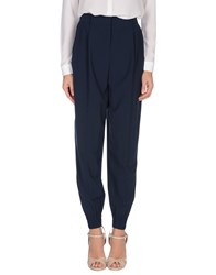 Elizabeth And James Trousers Casual Trousers Women Dark Blue