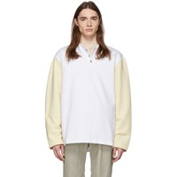 Fear Of God White And Beige Long Sleeve Henley