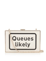 Anya Hindmarch Queues Likely Imperial Leather Clutch