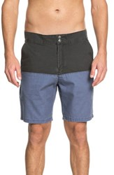 Quiksilver Mad Wax Block Shorts Tarmac