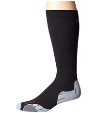 2Xu Compression Recovery Sock Black Black Men's Knee High Socks Shoes