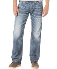 Silver Jeans Relaxed Fit Straight Leg Zac Jeans Indigo