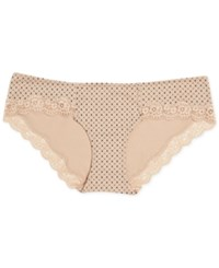 A Pea In The Pod Maternity Lace Trim Hipster Briefs Geometric Print