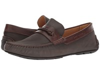 Massimo Matteo Rope Bit Driver Cafe Slip On Dress Shoes Brown