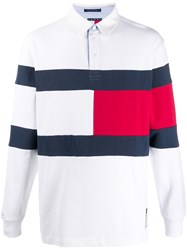 Tommy Jeans Colour Block Polo Shirt 60